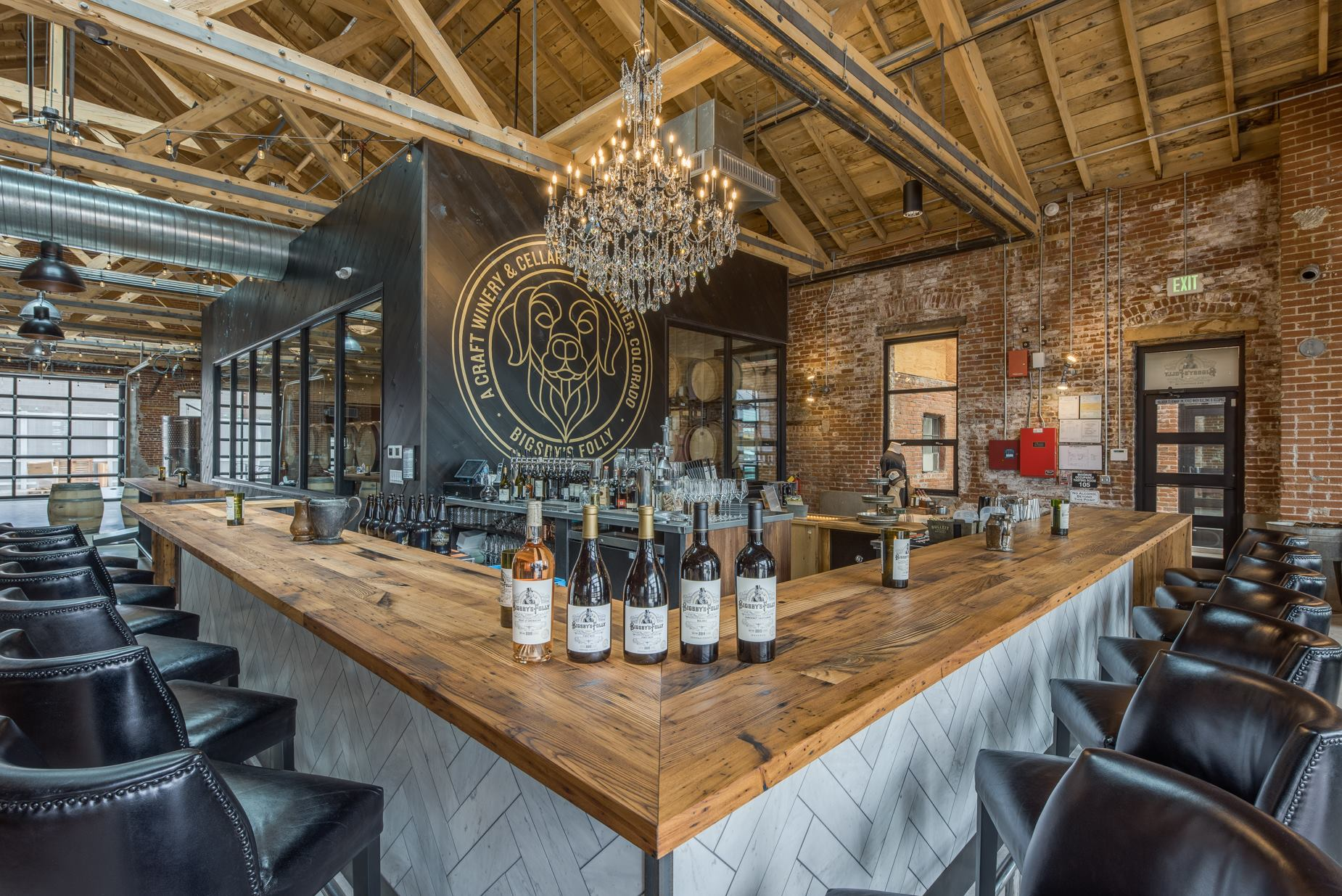 Bigsby's Folly - House wines star at this full bar with an industrial-artsy vibe and a menu of small plates.