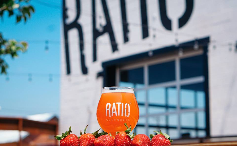 Ratio Beerworks - Ratio Beerworks has some of the best Denver microbrews. Visit their large, industrial taproom featuring a variety of craft brews and a dog-friendly courtyard with games.