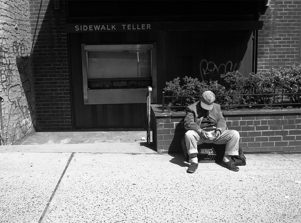 Sidewalk Teller