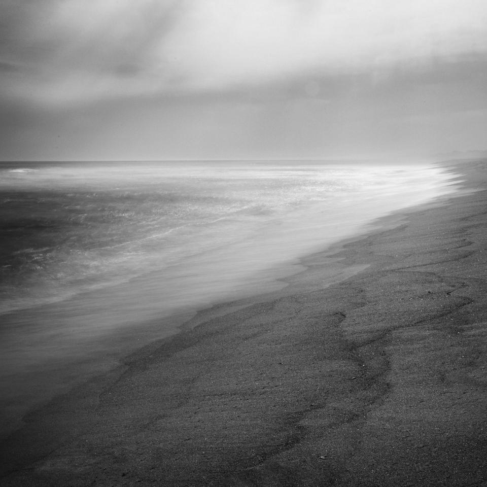 Misty Ocean Morning