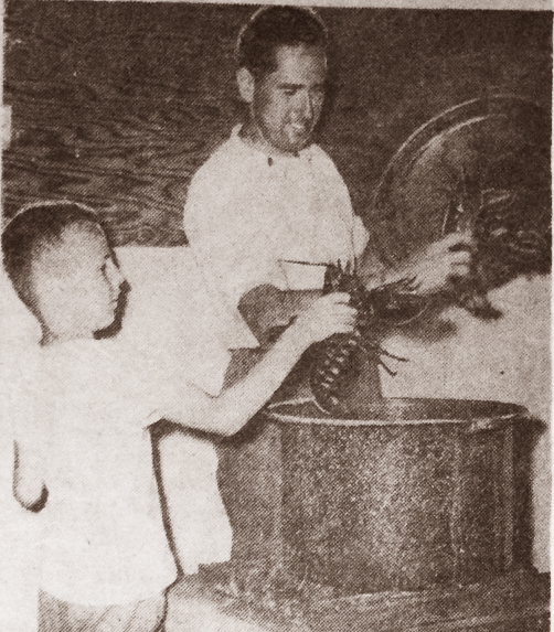 George and Ron Spinney