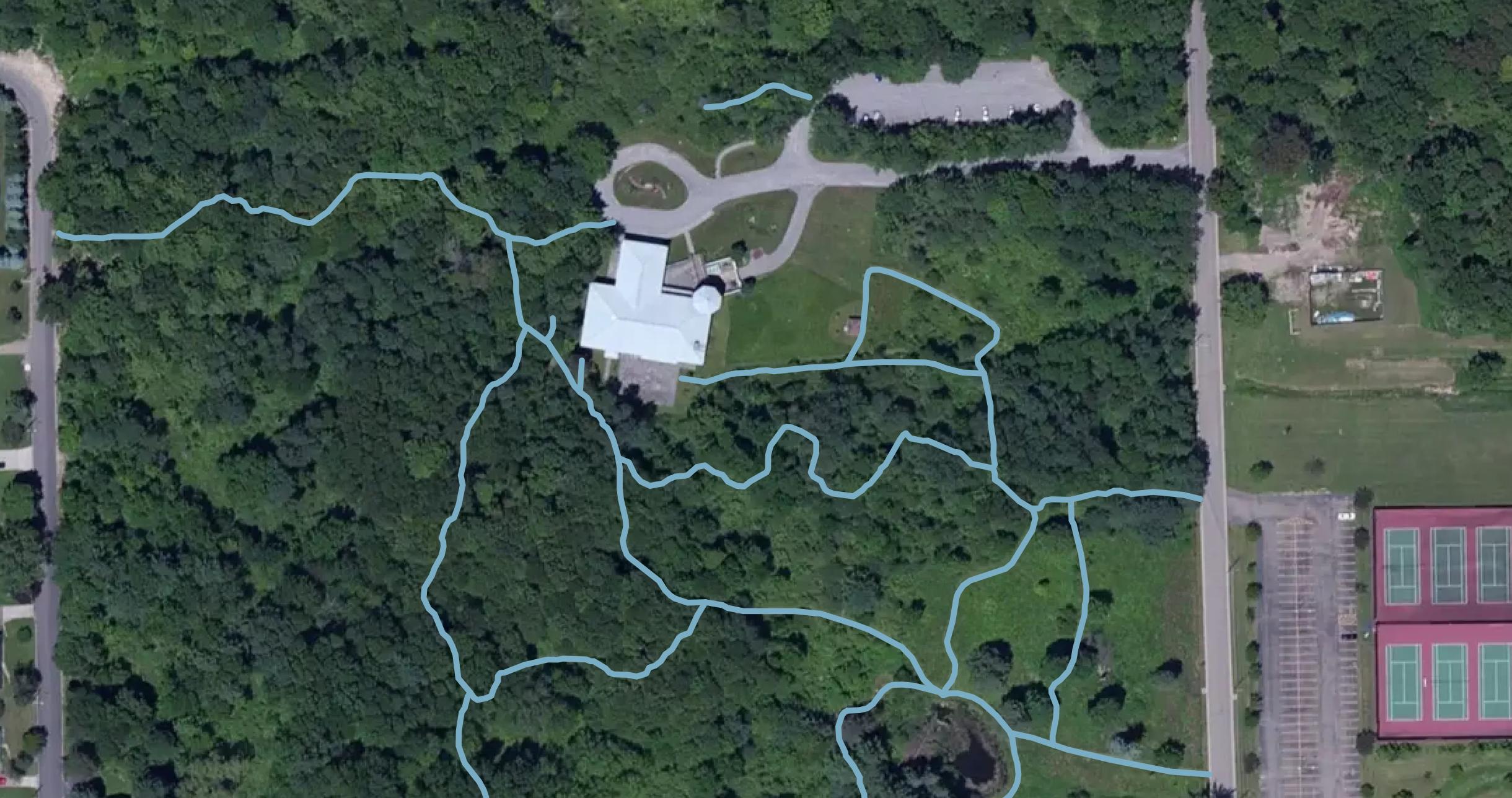 Map of RTPI Grounds