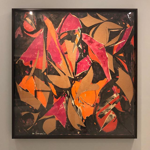 Some poor photos from the legendary Lee Krasner exhibition. Always in Pollocks shadow but getting an excellent retrospective at the Barbican (you've done it again, another incredible show)👌#barbicancentre #leekrasnerbarbican