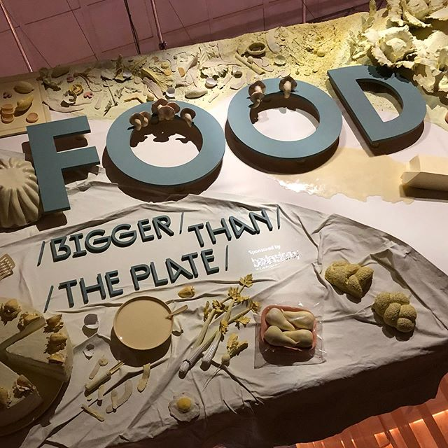 Such a great exhibition @vamuseum about sustainability around food.  #plateup