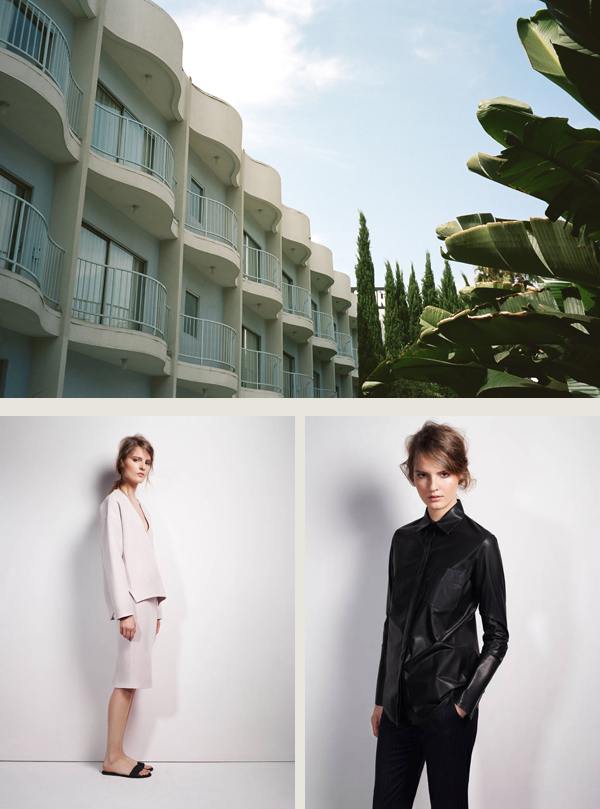 The Standard Hotel in Hollywood, film photo by Andrew. Lookbook photos via The Line.