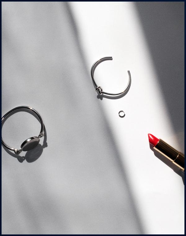 Photo by me. Céline bracelets and  Stone Paris  earring.