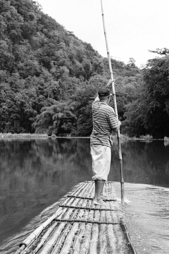 Rafting down the Rio Grande