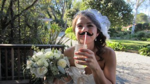 Is this a fun bride or what?