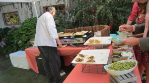 Street style Taco Bar was a huge hit