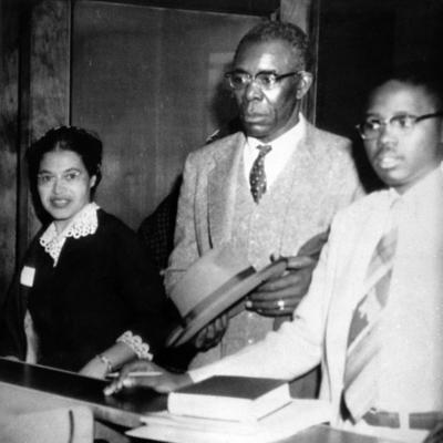 Mrs. Rosa Parks and E.D. Nixon