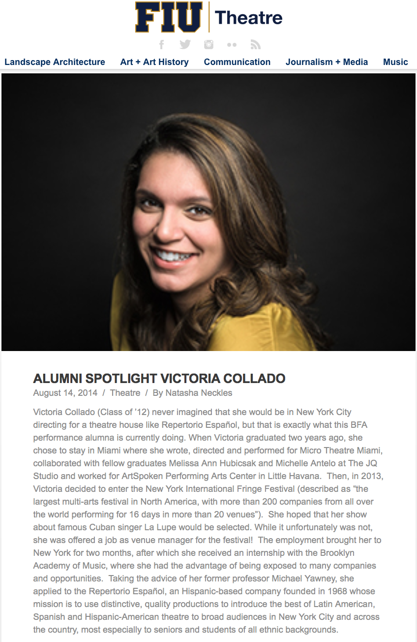 alumni spotlight - florida international university