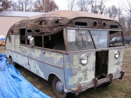 1947 Packard Motorhome