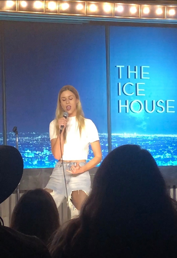 Ester Uddén @ The Ice House in Pasadena for Laugh Lounge.