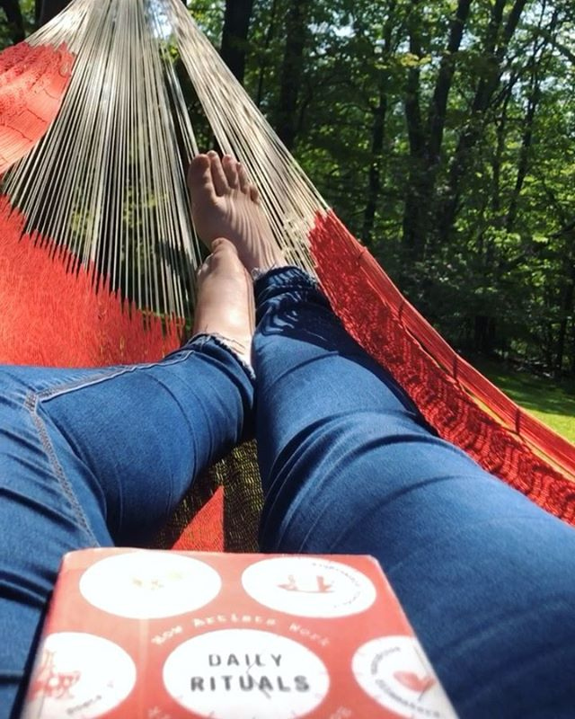 welcome to my version of bliss- music, sunshine, good books, connecting with the sky and clouds and trees, driving with the windows down and music blasting with mountains and lakes in the windshield and rearview, walking barefoot in warm spring grass, and cocooning up in a hammock for 5+ hours. sometimes you need to root yourself in nature to feel grounded.