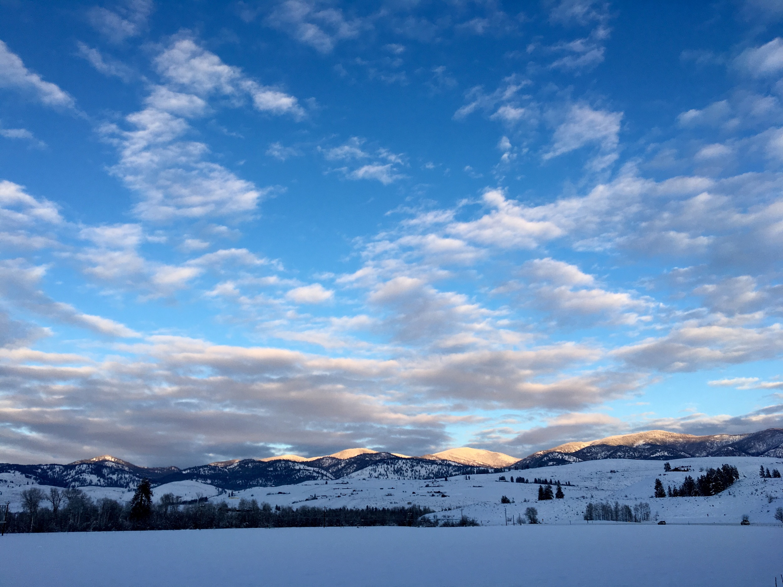 Methow Valley in Snow