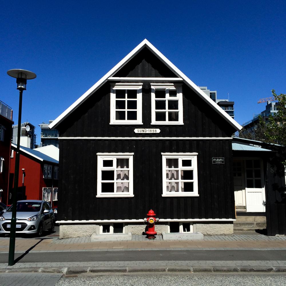 Home in Reykjavik