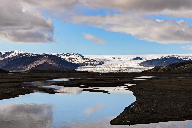 Glacier, East Iceland