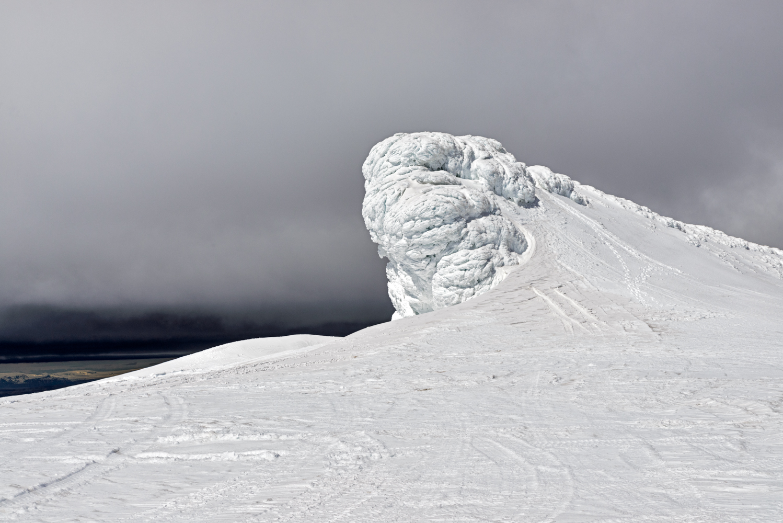 Cornice of Eyjafjallajökull