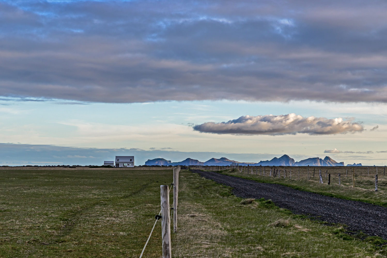 Airbnb Rental House with the Westman Islands beyond