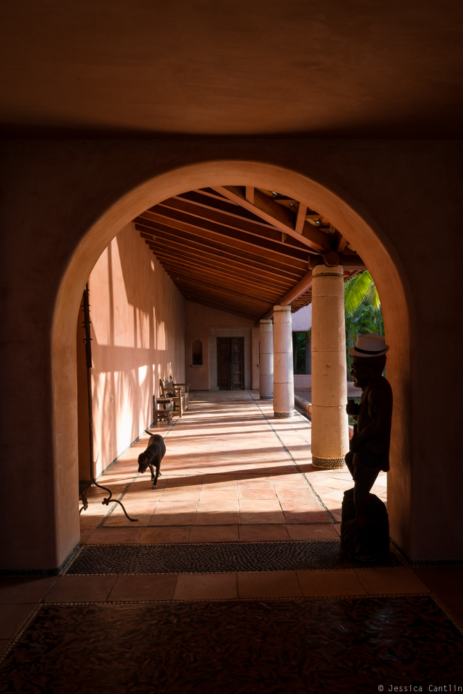 Portico at Casa Teresa