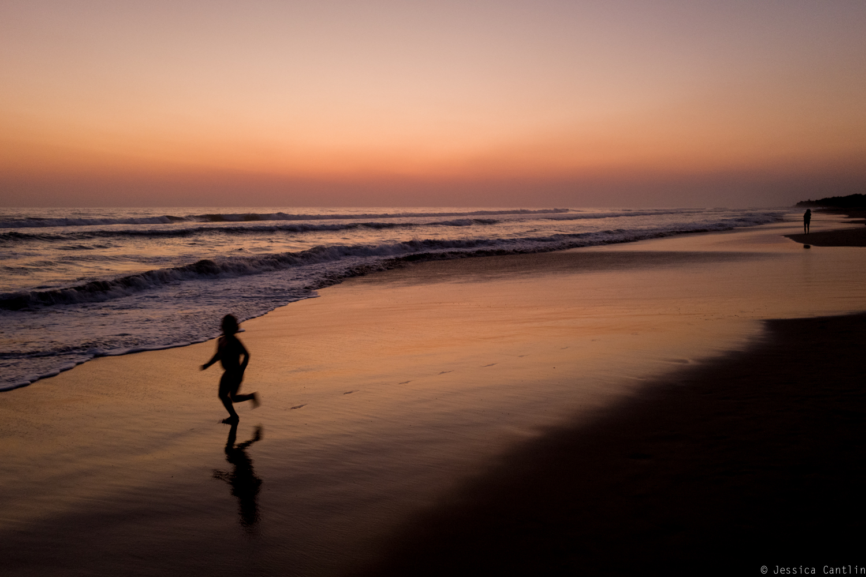 Sunset over Playa Troncones
