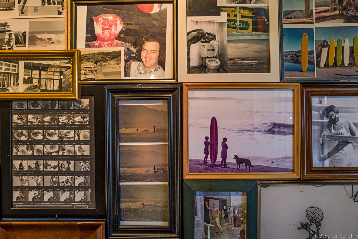 Surfing History at the Bolinas Museum