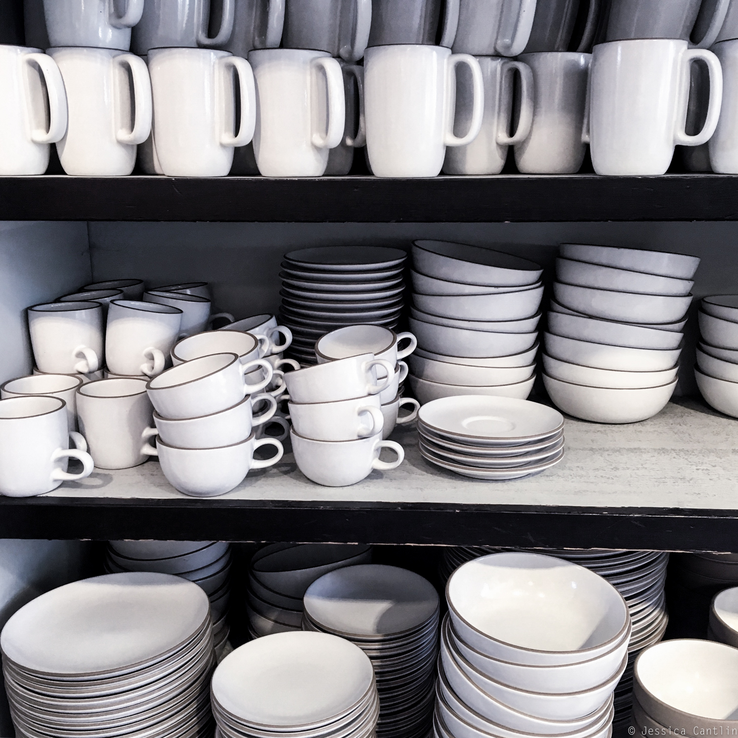 Dishes at Heath Ceramics