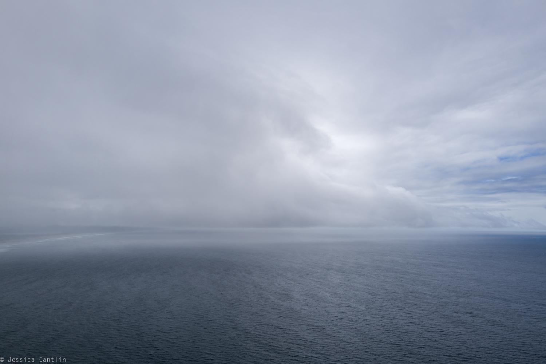Pacific Ocean above Manzanita