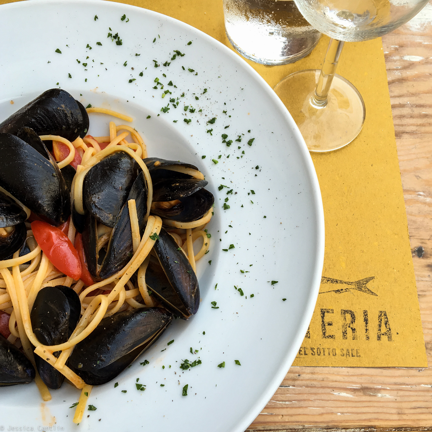 Mussels at Osteria del Sotto Sale