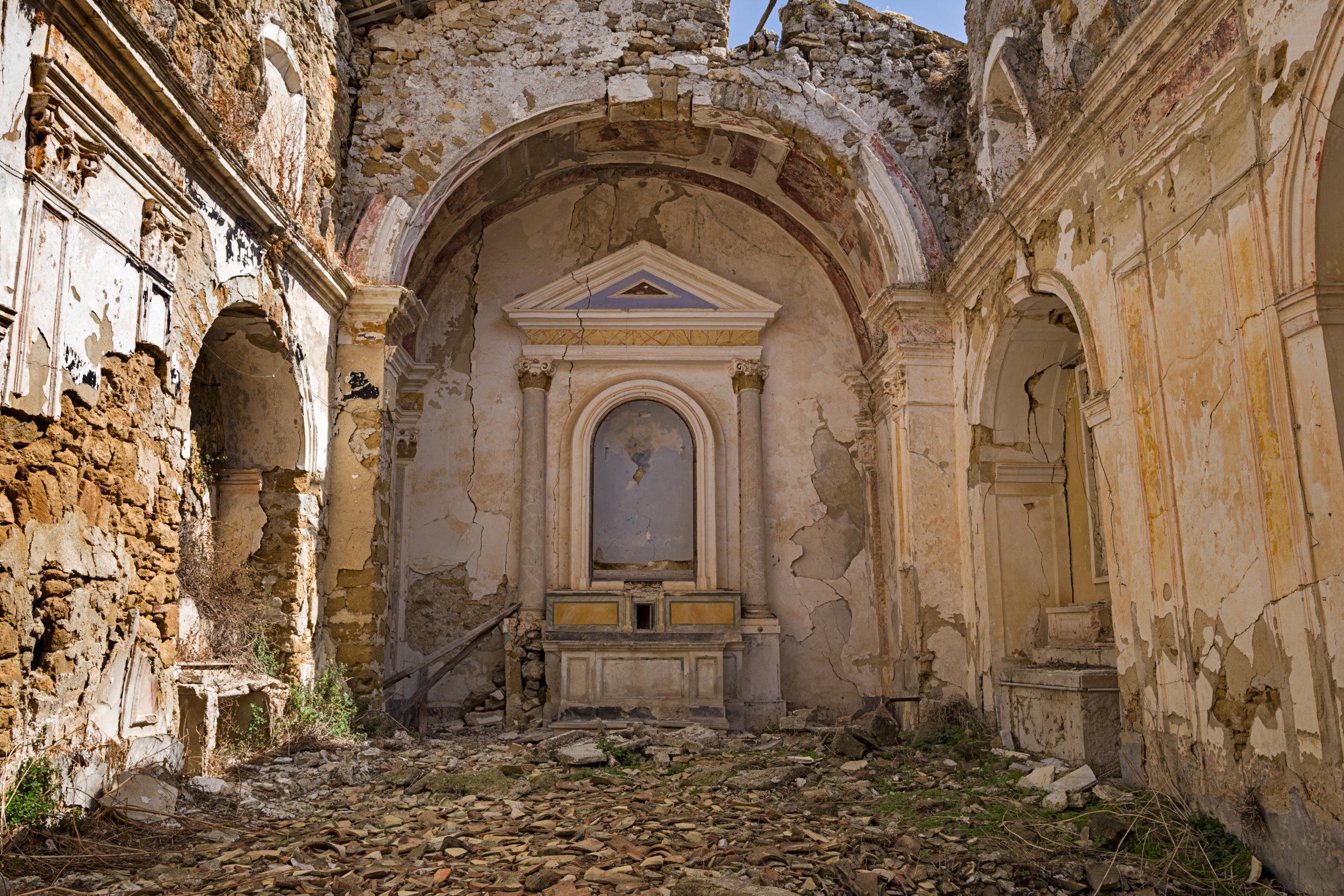 Ruins of Poggioreale