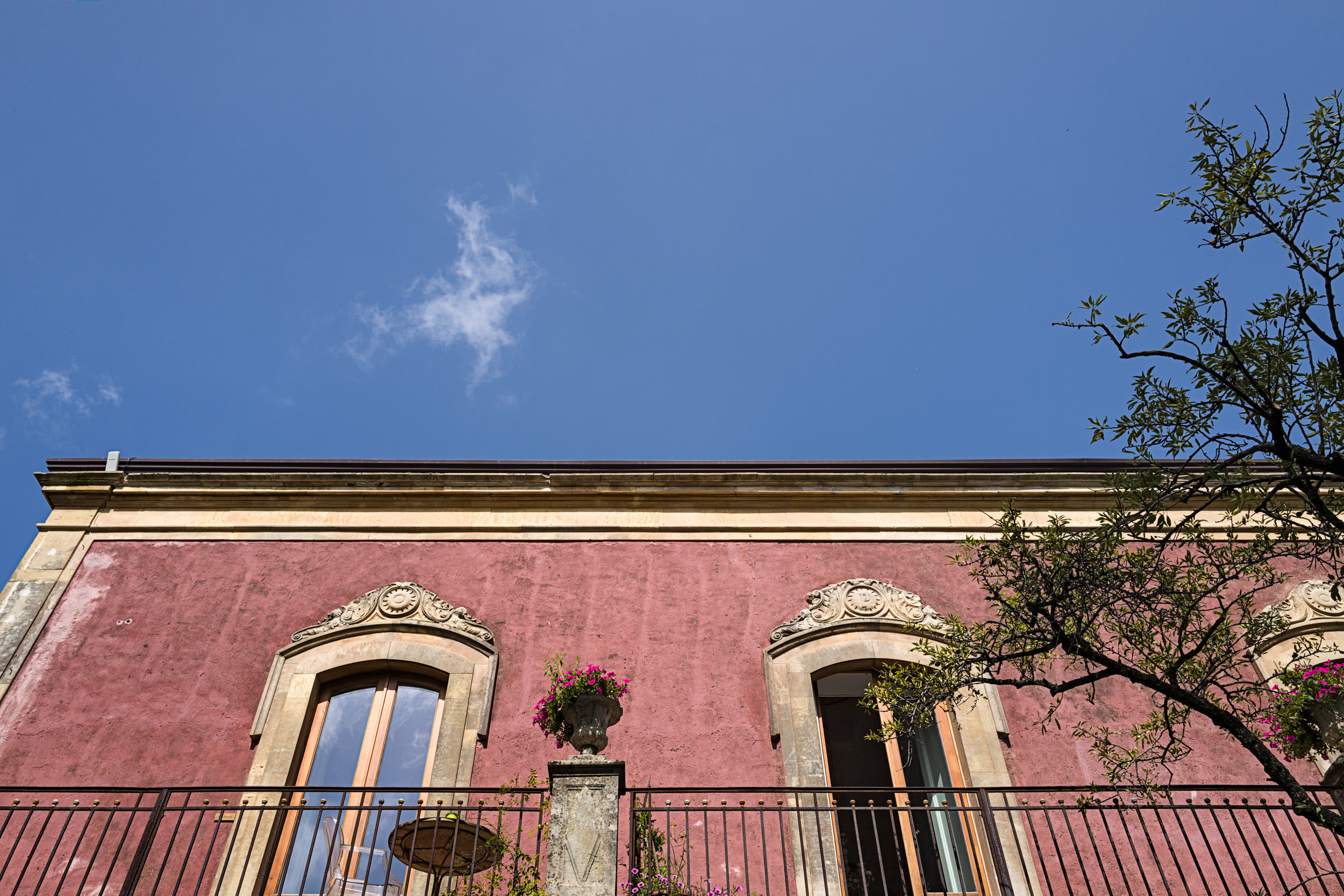 Main House at Monaci delle Terre Nere