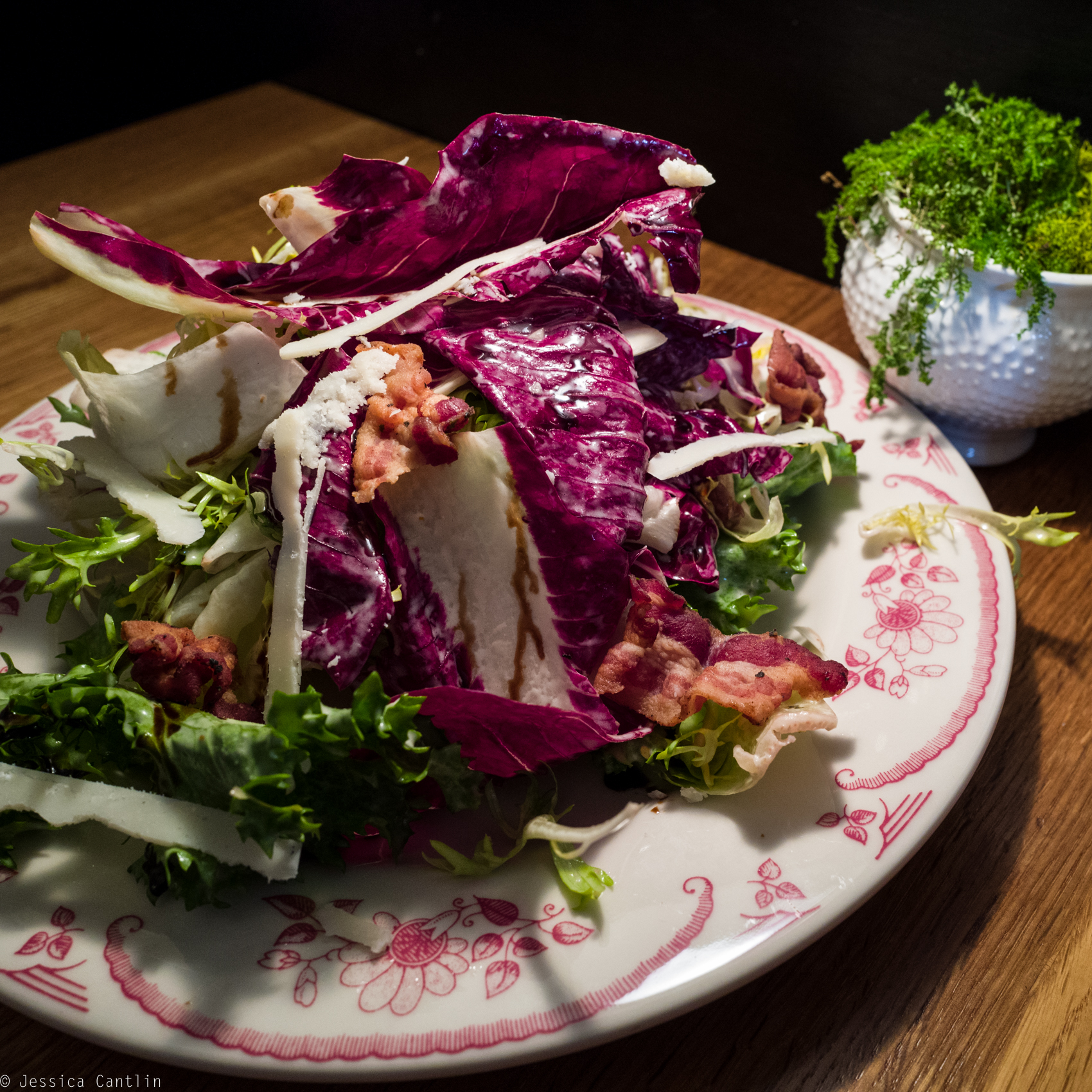 Chicories Salad at San Fermo.