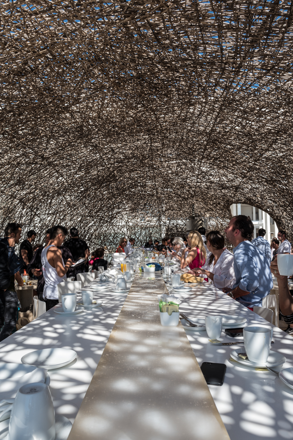 Breakfast in the Nest at Mar Adentro