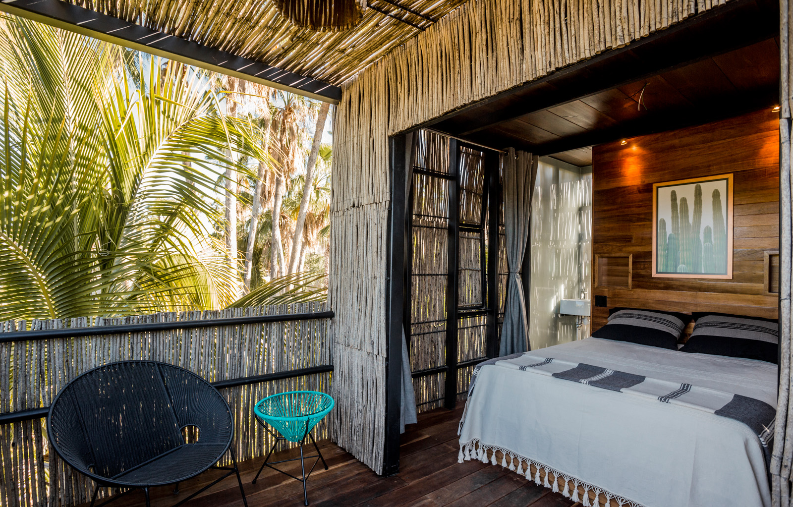 Treehouse Accommodations at Acre ( photo courtesy of Acre)