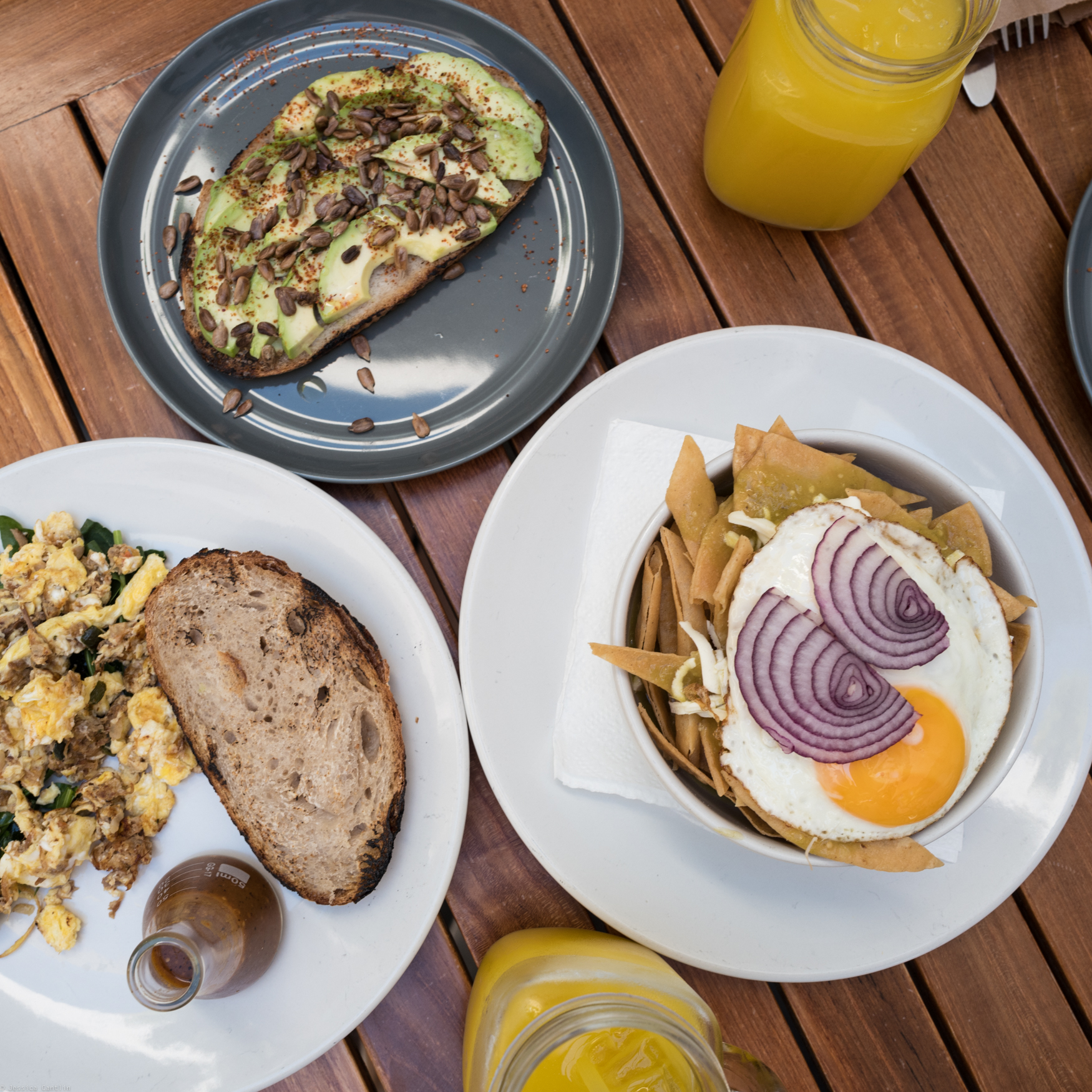 Breakfast at La Panaderia