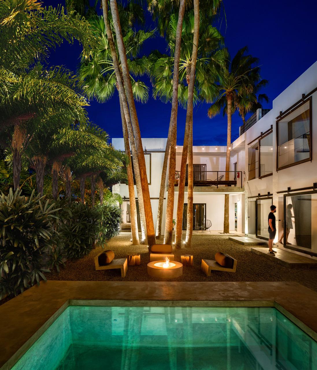 Courtyard at Drift San Jose  (photo courtesy of Drift San Jose)
