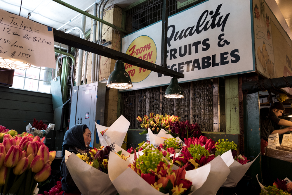 Flower Sellers at the Pike Place Market