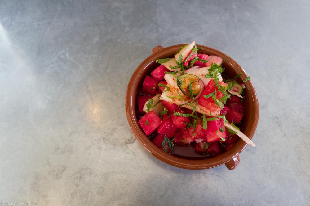 Watermelon Salad at Copal