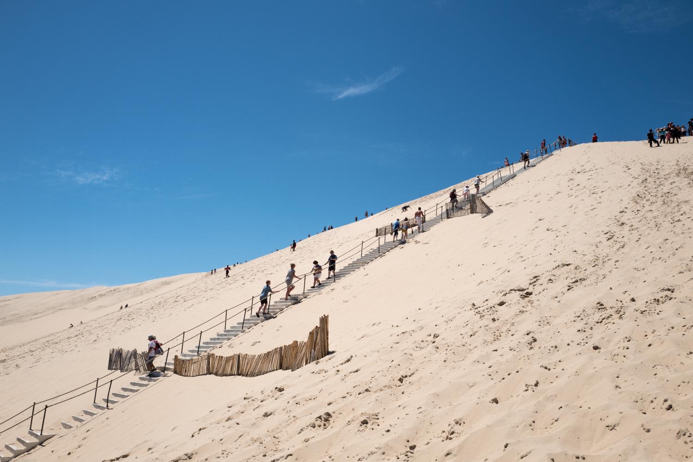 Hiking the Dune du Pilat