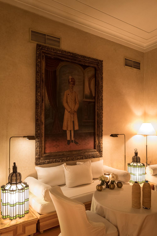 Intimate dining room at L'Hôtel