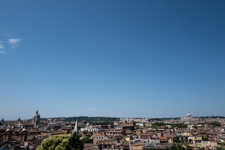 Rome from Villa Borghese