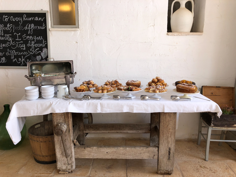 Breakfast at Masseria Potenti