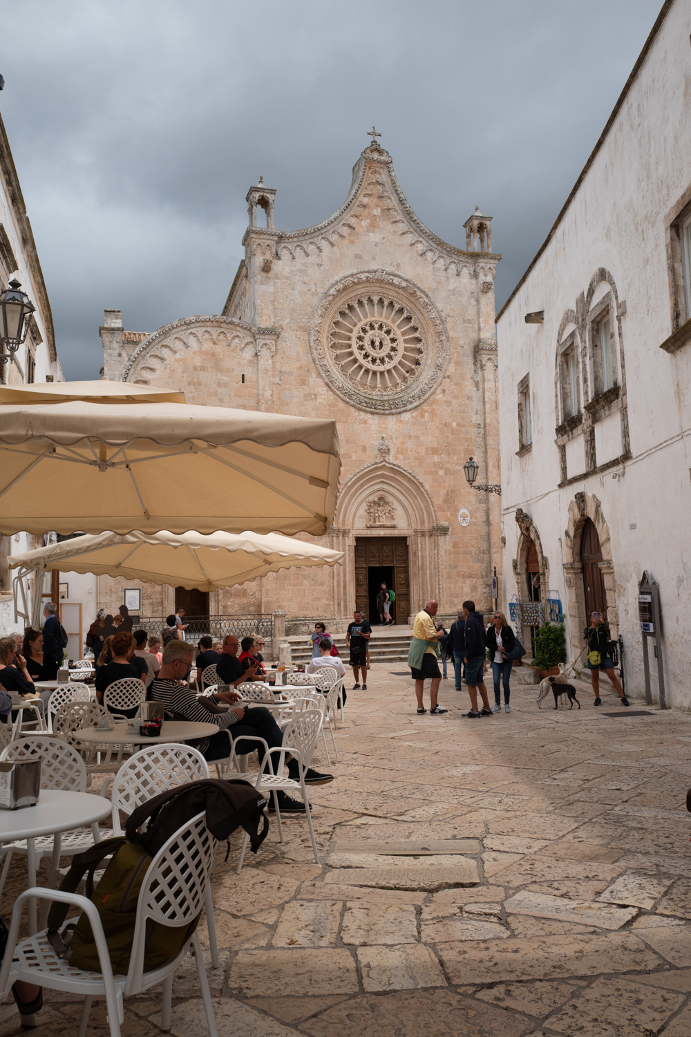 Strolling through Ostuni