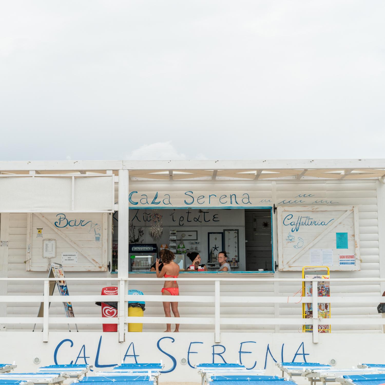 Beach Bar at Porto Cesareo