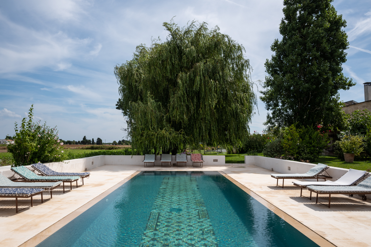 Pool Deck at Masseria Prosperi