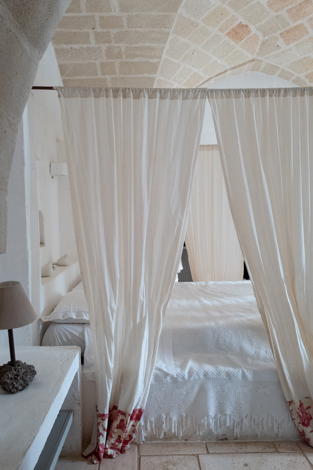 Guestroom at Masseria Potenti