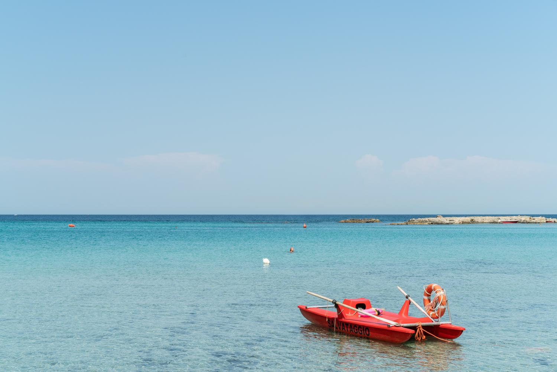 Calm Seas at Lido La Castellana