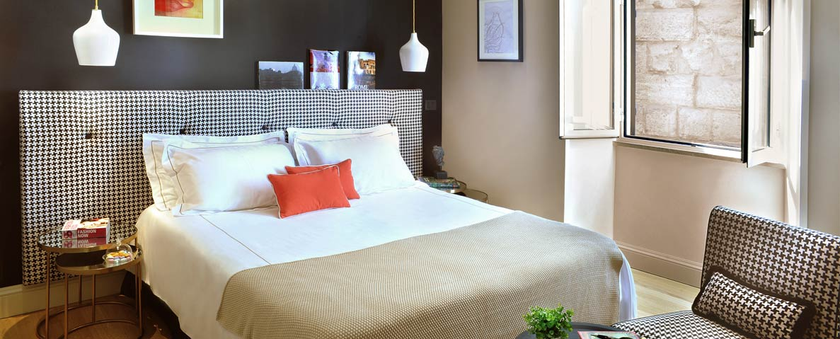 Guestroom at Nerva Boutique Hotel (photo courtesy of the hotel)