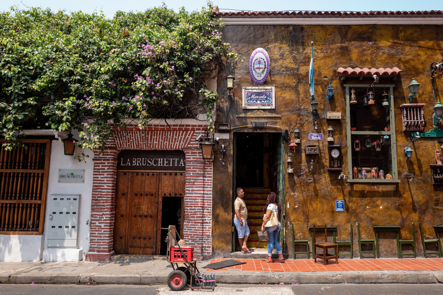 Streets of Old Town Cartagena