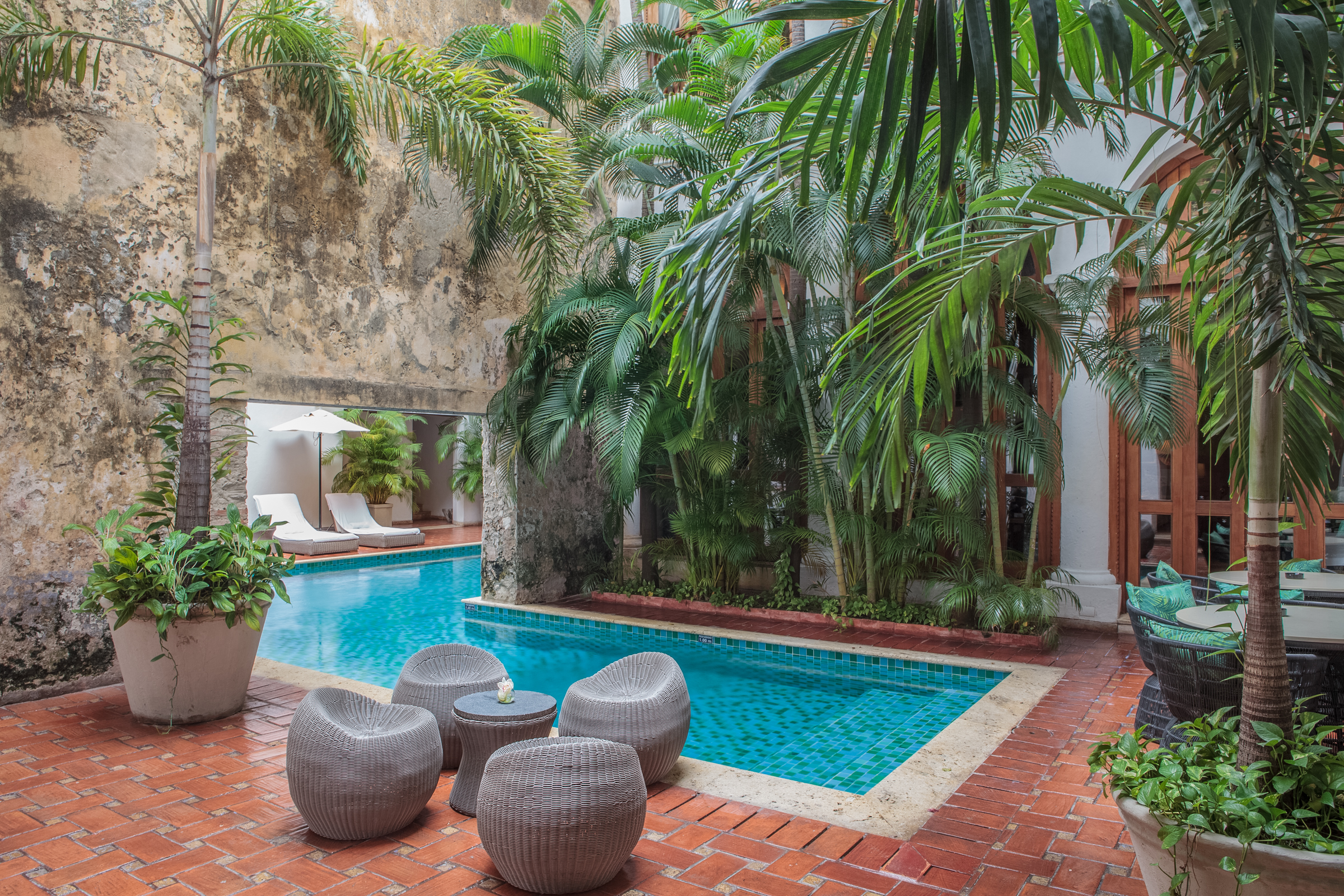 Poolside at Hotel Casa San Agustin ( photo courtesy of Hotel Casa San Agustin)